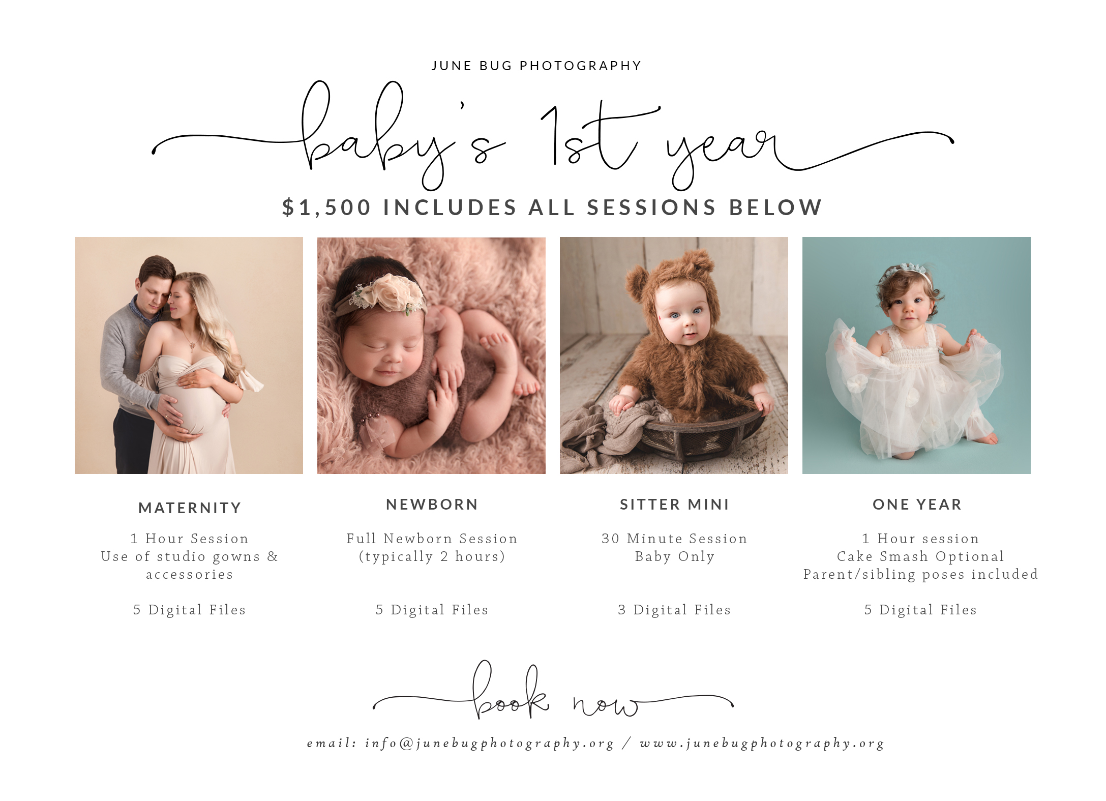 Prices Mill Creek Photography Pricing