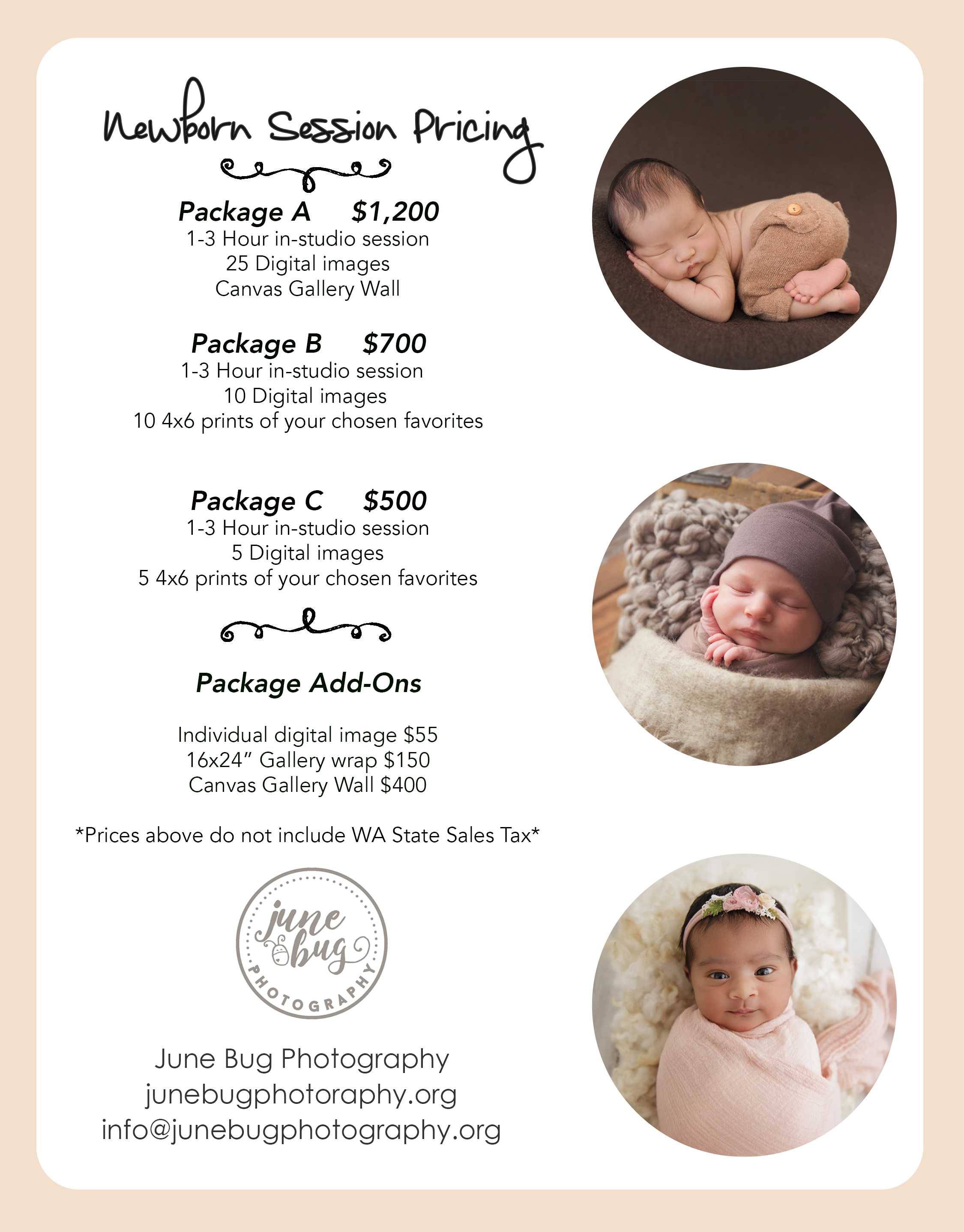 Mill creek newborn photographer