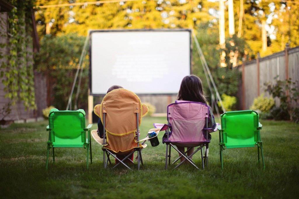 Diy Outdoor Movie Screen Shower Curtain