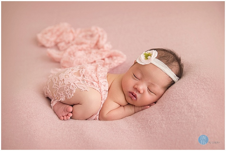 June bug photography mill creek newborn photography