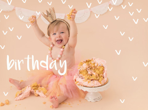 mill creek cake smash photography